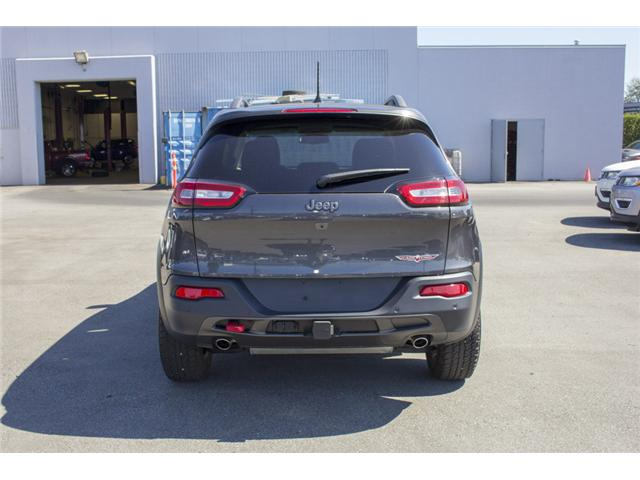 2017 Jeep Cherokee Trailhawk (Stk: EE895720) in Surrey - Image 6 of 26