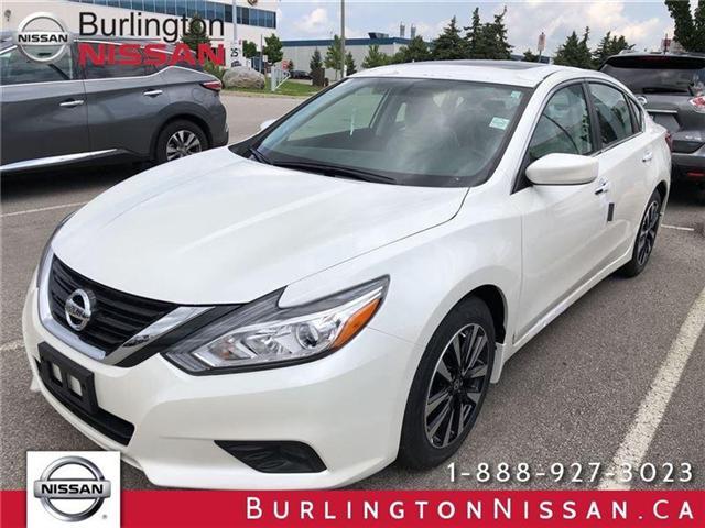 2018 Nissan Altima 2.5 SV (Stk: X5318) in Burlington - Image 1 of 5