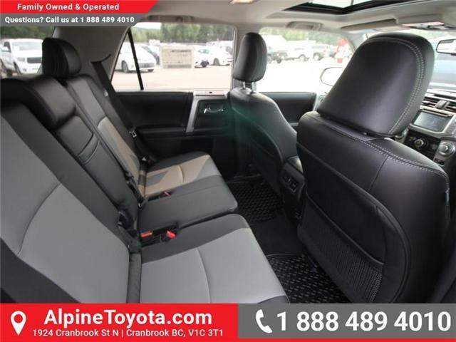 2018 Toyota 4Runner SR5 (Stk: 5597382) in Cranbrook - Image 11 of 17
