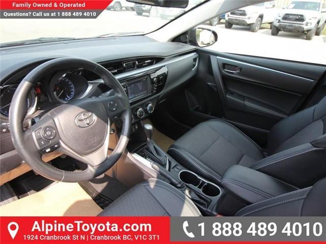 2015 Toyota Corolla S (Stk: C420415M) in Cranbrook - Image 9 of 17