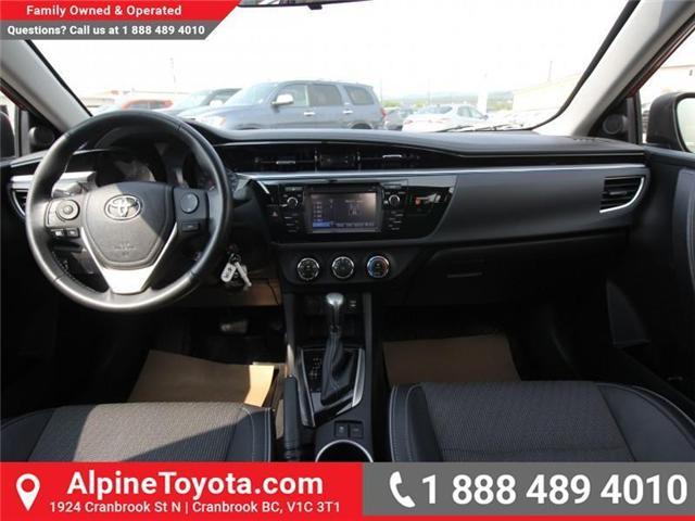 2015 Toyota Corolla S (Stk: C420415M) in Cranbrook - Image 10 of 17