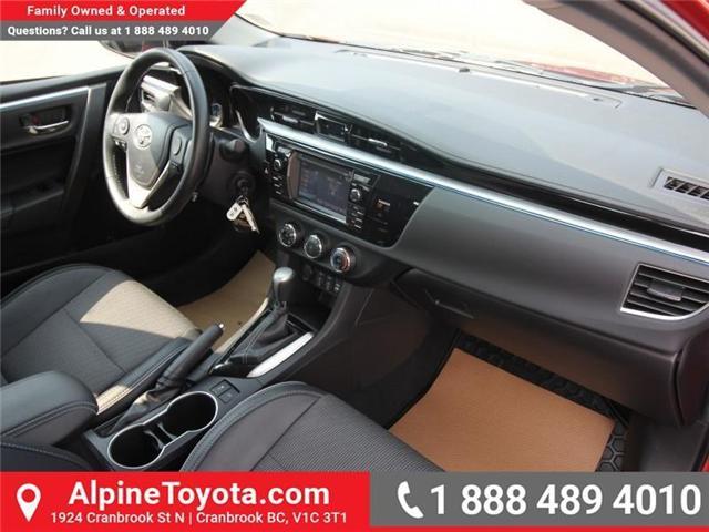 2015 Toyota Corolla S (Stk: C420415M) in Cranbrook - Image 11 of 17
