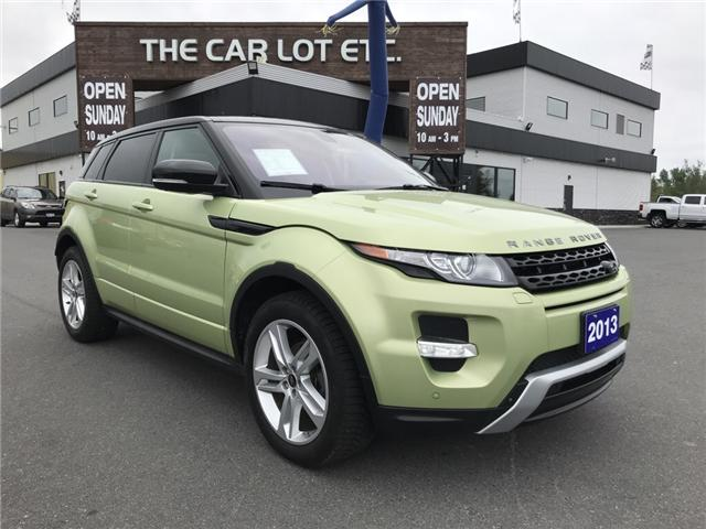 2013 Land Rover Range Rover Evoque Pure (Stk: 711802) in Sudbury - Image 1 of 14
