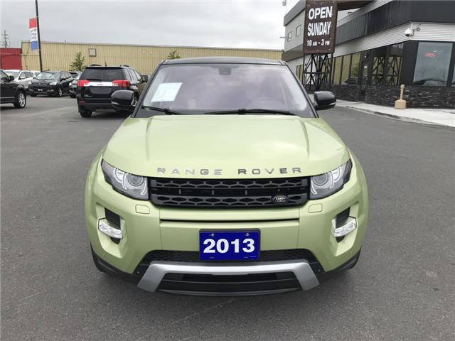 2013 Land Rover Range Rover Evoque Pure (Stk: 711802) in Sudbury - Image 2 of 14