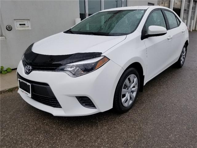 2016 Toyota Corolla LE (Stk: u00940) in Guelph - Image 1 of 27