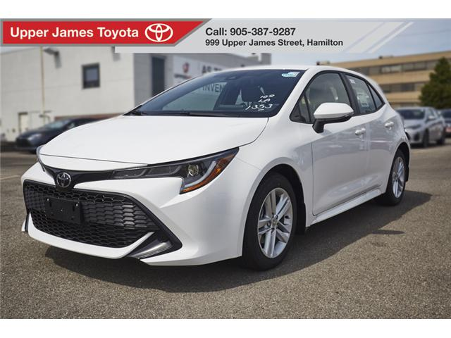 2019 Toyota Corolla Hatchback Base (Stk: 190070) in Hamilton - Image 1 of 16