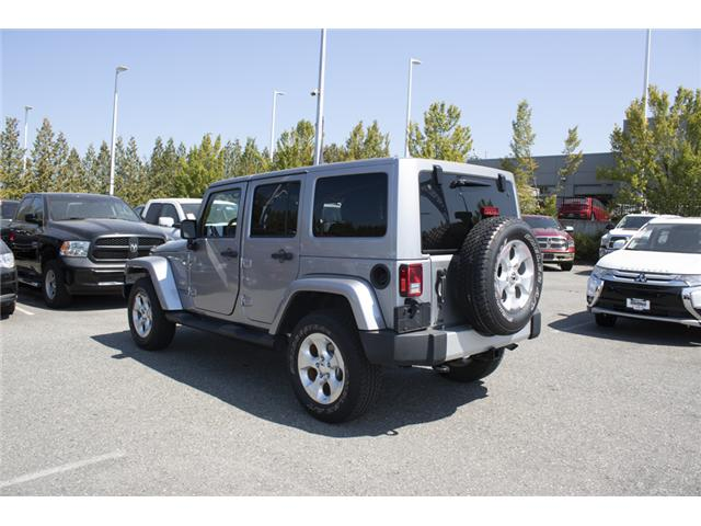 2015 Jeep Wrangler Unlimited Sahara (Stk: J107524BA) in Abbotsford - Image 5 of 23