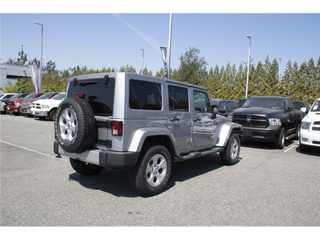 2015 Jeep Wrangler Unlimited Sahara (Stk: J107524BA) in Abbotsford - Image 7 of 23