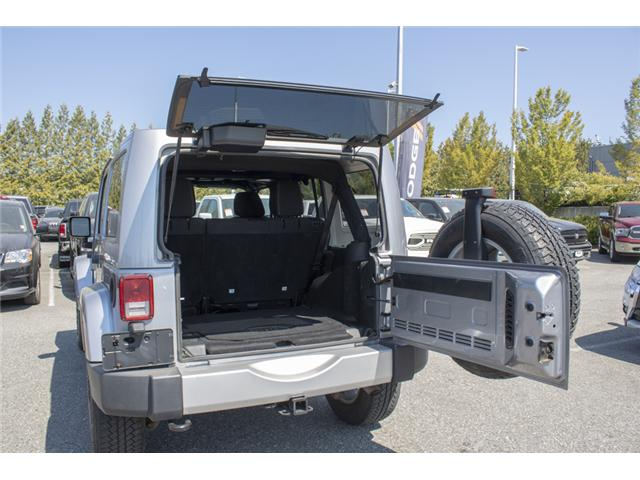 2015 Jeep Wrangler Unlimited Sahara (Stk: J107524BA) in Abbotsford - Image 9 of 23