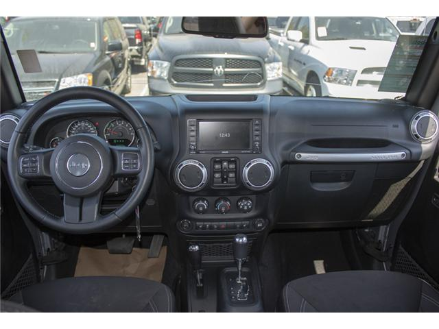 2015 Jeep Wrangler Unlimited Sahara (Stk: J107524BA) in Abbotsford - Image 16 of 23