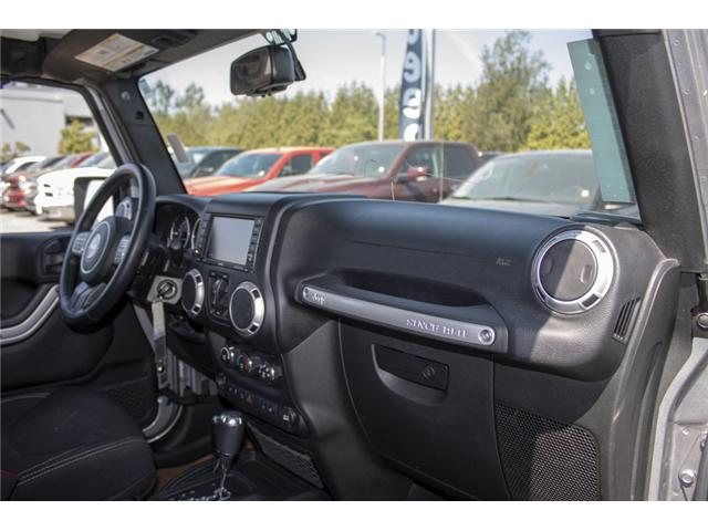 2015 Jeep Wrangler Unlimited Sahara (Stk: J107524BA) in Abbotsford - Image 17 of 23
