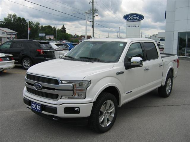 2018 Ford F-150 Lariat (Stk: 18512) in Smiths Falls - Image 1 of 12