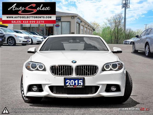 2015 BMW 528i xDrive (Stk: 15M5W7K) in Scarborough - Image 2 of 29