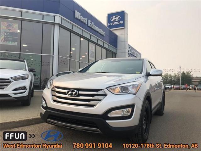 2013 Hyundai Santa Fe Sport  (Stk: 86523A) in Edmonton - Image 1 of 21