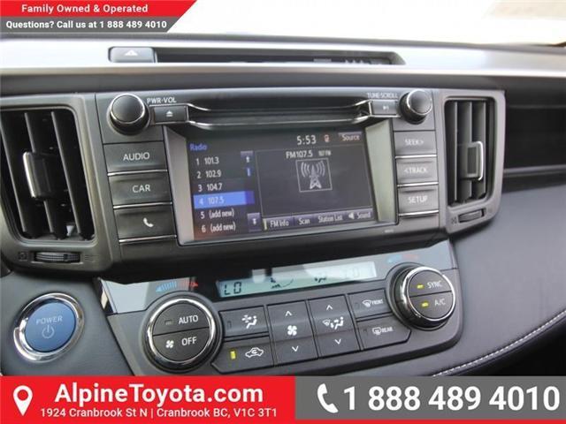 2018 Toyota RAV4 Hybrid LE+ (Stk: D208377) in Cranbrook - Image 12 of 16