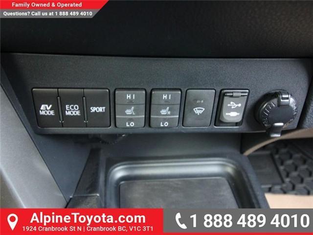 2018 Toyota RAV4 Hybrid LE+ (Stk: D208377) in Cranbrook - Image 13 of 16