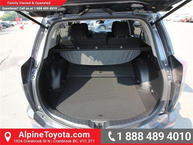 2018 Toyota RAV4 Hybrid LE+ (Stk: D208377) in Cranbrook - Image 14 of 16