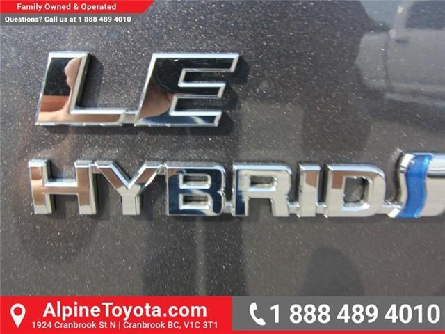 2018 Toyota RAV4 Hybrid LE+ (Stk: D208377) in Cranbrook - Image 16 of 16