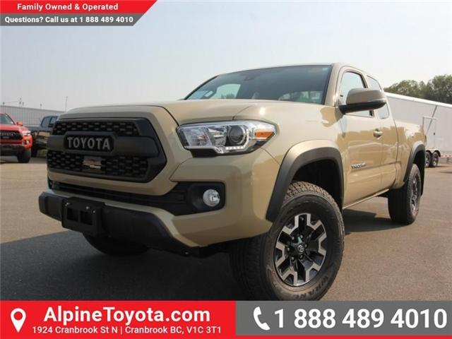 2018 Toyota Tacoma TRD Off Road (Stk: X156120) in Cranbrook - Image 1 of 16