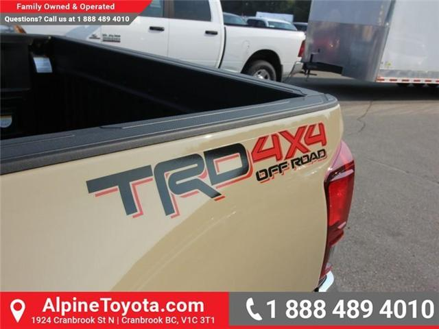2018 Toyota Tacoma TRD Off Road (Stk: X156120) in Cranbrook - Image 15 of 16