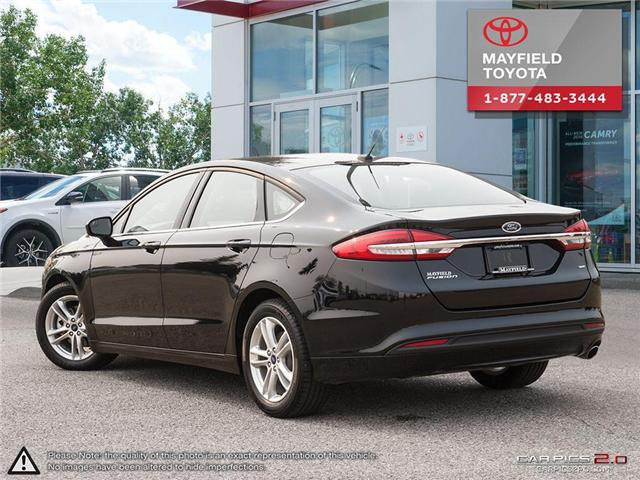 2018 Ford Fusion SE (Stk: 184176) in Edmonton - Image 4 of 20