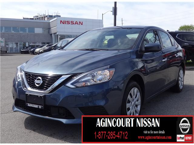 2018 Nissan Sentra 1.8 SV (Stk: U12246) in Scarborough - Image 1 of 17
