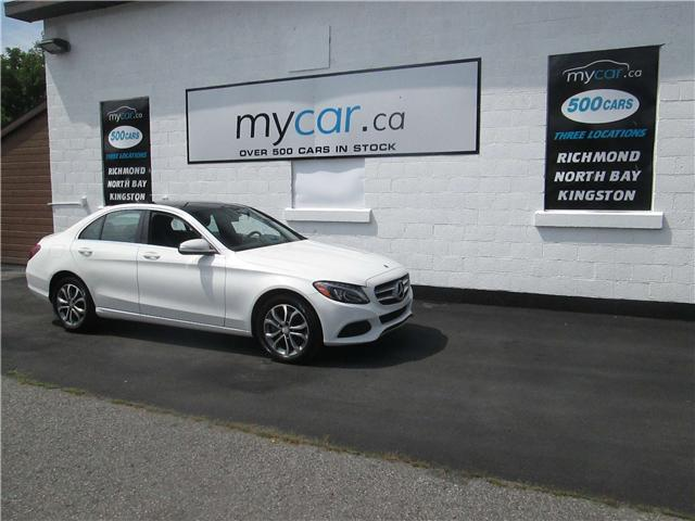 2015 Mercedes-Benz C-Class Base (Stk: 181033) in Kingston - Image 2 of 14