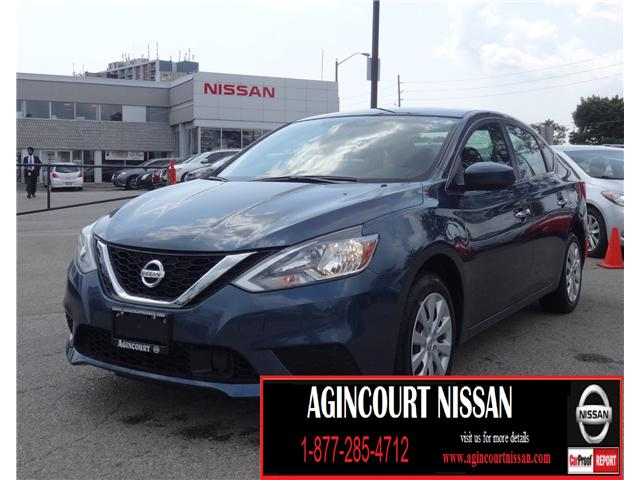 2018 Nissan Sentra 1.8 SV (Stk: U12249) in Scarborough - Image 1 of 20