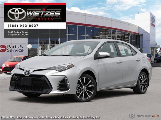 2019 Toyota Corolla Se Se Upgrade Package Sunroof 154 20 B W At