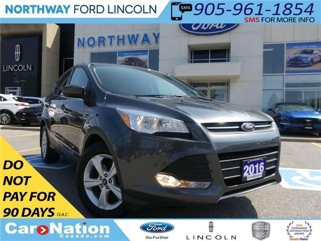 2016 Ford Escape SE | REAR CAM | LOW KM | HEATED SEATS | (Stk: EC81063A) in Brantford - Image 1 of 24