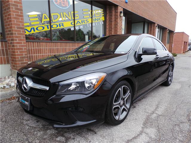 2016 Mercedes-Benz CLA-Class Base (Stk: 11087) in Woodbridge - Image 1 of 19