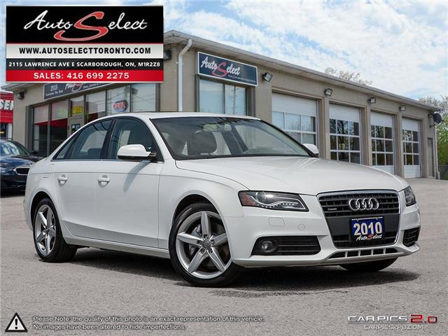 2010 Audi A4 Quattro (Stk: 10AWL413) in Scarborough - Image 1 of 29