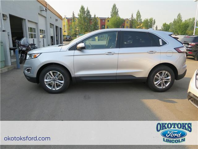 2018 Ford Edge SEL (Stk: JK-423) in Okotoks - Image 2 of 5