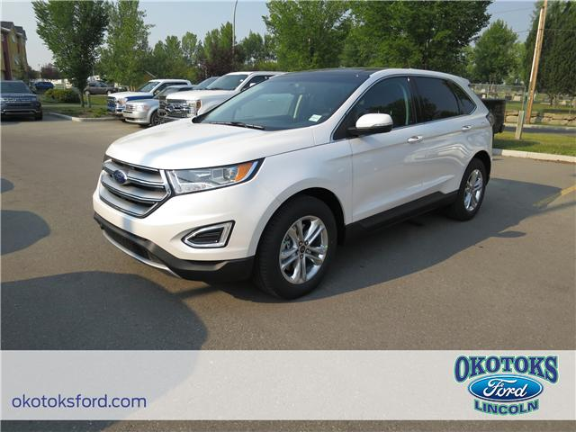 2018 Ford Edge SEL (Stk: JK-442) in Okotoks - Image 1 of 5