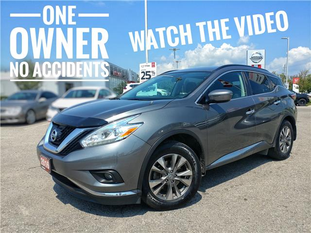 2016 Nissan Murano SV (Stk: GN136651) in Cobourg - Image 1 of 34