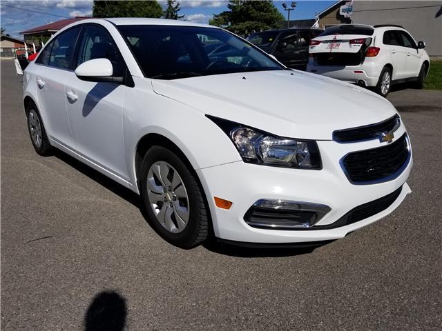 2016 Chevrolet Cruze Limited 1LT (Stk: ) in Kemptville - Image 1 of 14