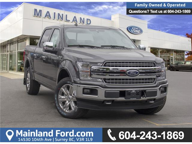 2018 Ford F-150 Lariat (Stk: 8F16363) in Surrey - Image 1 of 29
