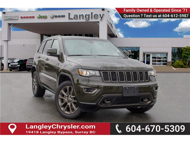 2017 Jeep Grand Cherokee Limited (Stk: EE893770) in Surrey - Image 1 of 26