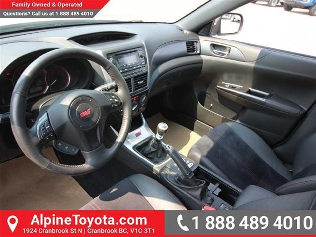 2011 Subaru Impreza WRX STi Base (Stk: 5520838B) in Cranbrook - Image 9 of 17