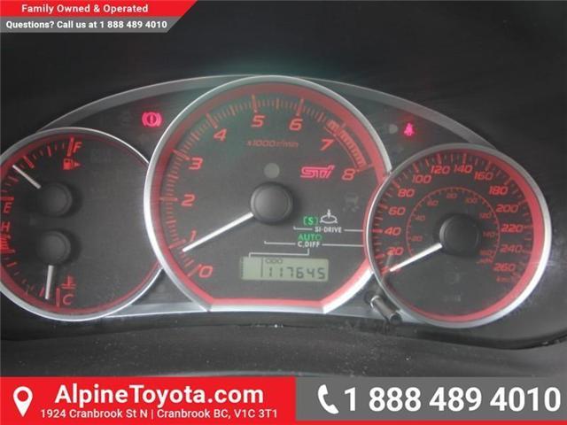 2011 Subaru Impreza WRX STi Base (Stk: 5520838B) in Cranbrook - Image 16 of 17