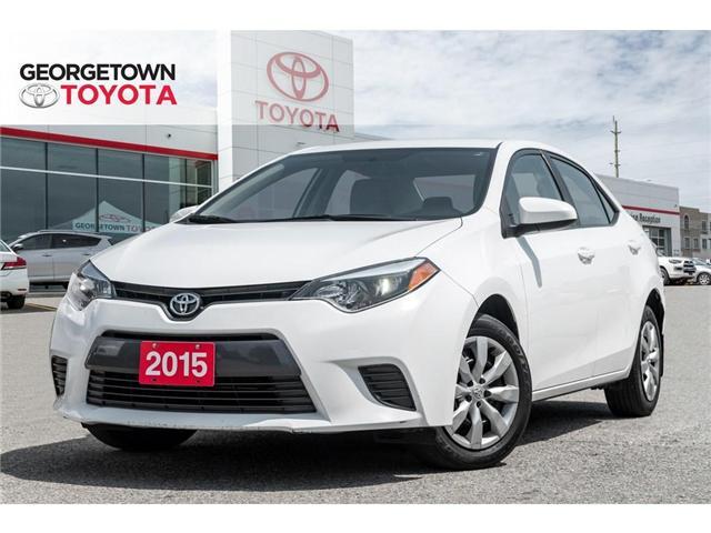 2015 Toyota Corolla  (Stk: 15-75680) in Georgetown - Image 1 of 20