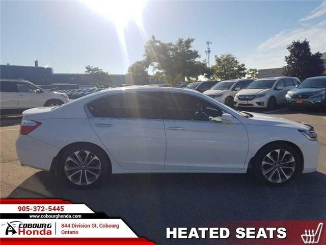 2015 Honda Accord Sport (Stk: 18246A) in Cobourg - Image 1 of 13
