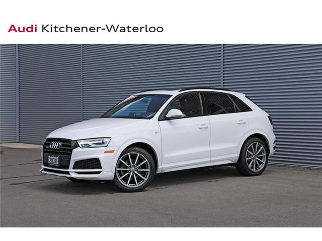 2018 Audi Q3 2.0T Progressiv (Stk: AQ9482) in Kitchener - Image 1 of 22