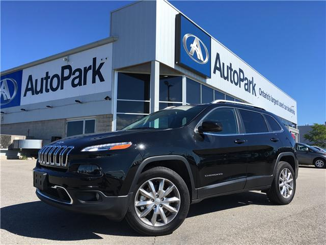2017 Jeep Cherokee Limited (Stk: 17-45472RMB) in Barrie - Image 1 of 30