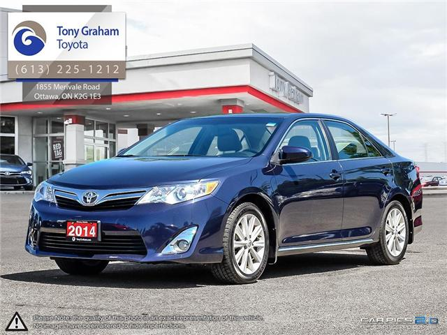 2014 Toyota Camry XLE (Stk: E7589) in Ottawa - Image 1 of 25