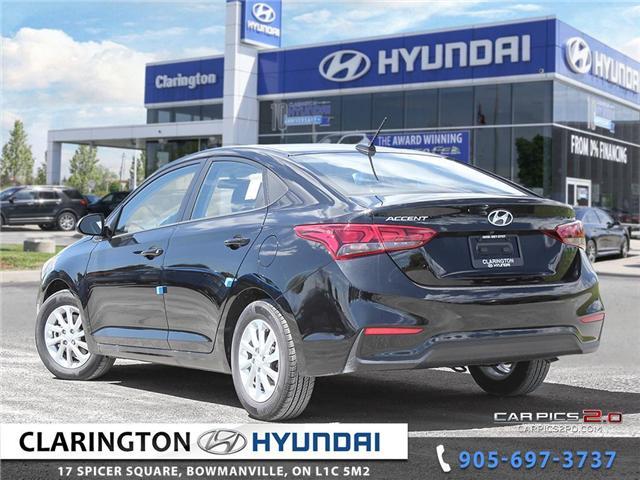 2019 Hyundai Accent Preferred (Stk: 18536) in Clarington - Image 4 of 27
