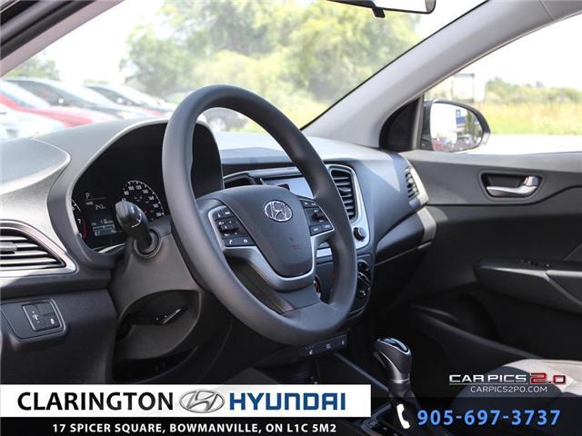 2019 Hyundai Accent Preferred (Stk: 18536) in Clarington - Image 6 of 27
