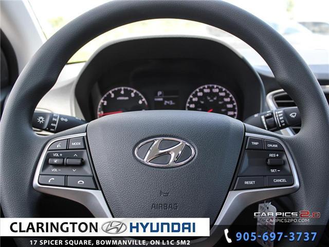 2019 Hyundai Accent Preferred (Stk: 18536) in Clarington - Image 7 of 27