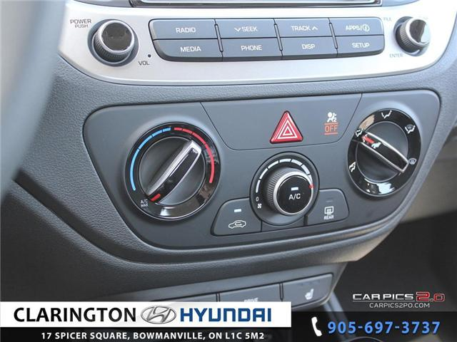 2019 Hyundai Accent Preferred (Stk: 18536) in Clarington - Image 14 of 27