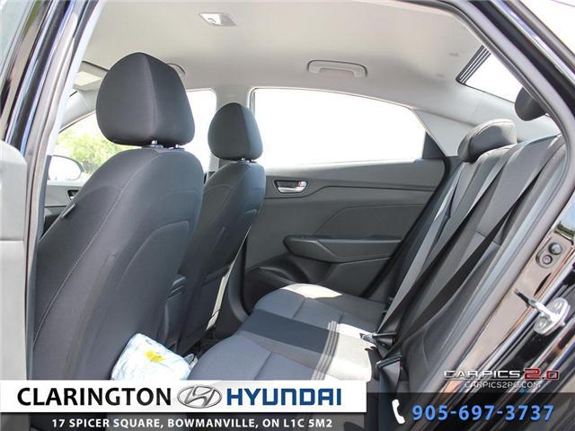 2019 Hyundai Accent Preferred (Stk: 18536) in Clarington - Image 19 of 27